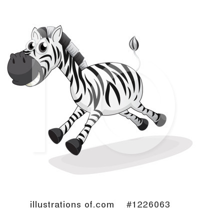 Royalty-Free (RF) Zebra Clipart Illustration by Graphics RF - Stock Sample #1226063