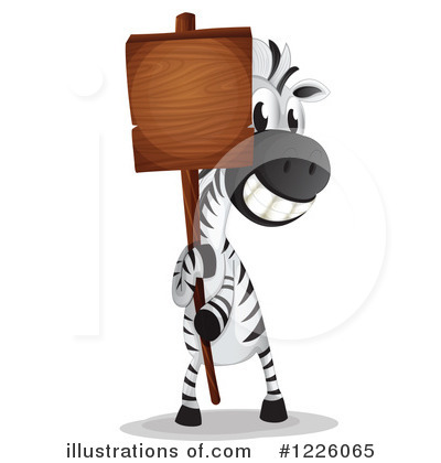 Zebra Clipart #1226065 by Graphics RF