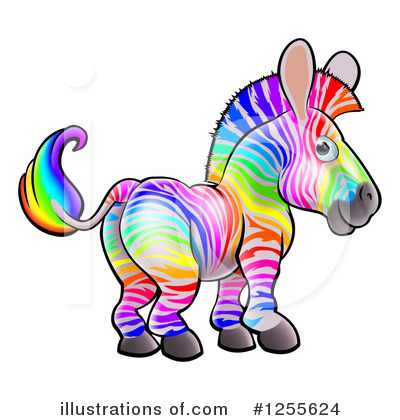 Zebra Clipart #1255624 by AtStockIllustration