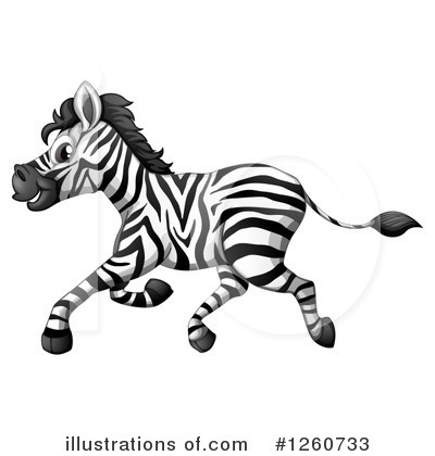 Zebra Clipart #1260733 by Graphics RF