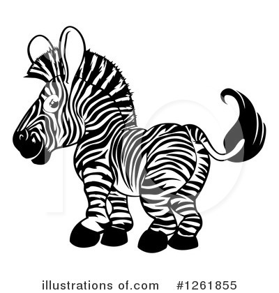 Zebra Clipart #1261855 by AtStockIllustration