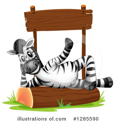 Zebra Clipart #1285590 by Graphics RF