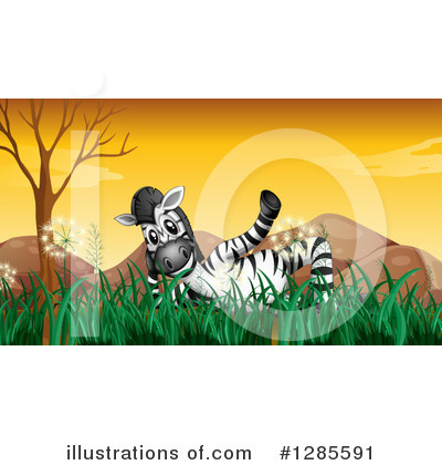 Zebra Clipart #1285591 by Graphics RF