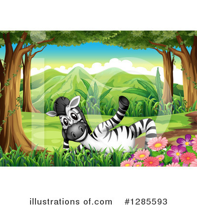 Zebra Clipart #1285593 by Graphics RF