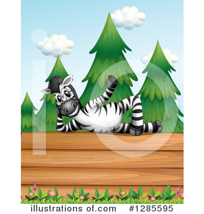 Zebra Clipart #1285595 by Graphics RF