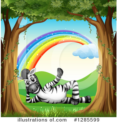 Zebra Clipart #1285599 by Graphics RF