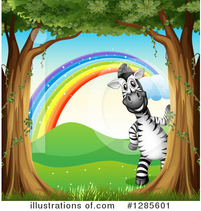 Zebra Clipart #1285601 by Graphics RF