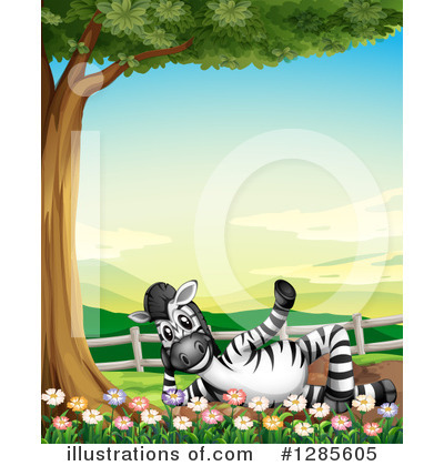 Zebra Clipart #1285605 by Graphics RF