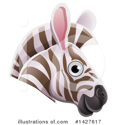 Zebra Clipart #1427617 by AtStockIllustration