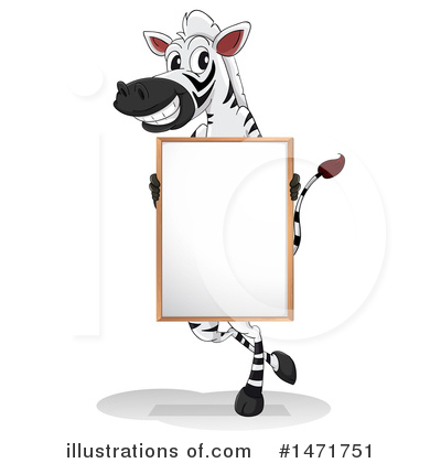 Zebra Clipart #1471751 by Graphics RF