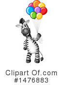 Zebra Clipart #1476883 by Graphics RF