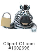 Zebra Clipart #1602696 by Julos