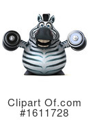 Zebra Clipart #1611728 by Julos