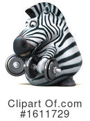 Zebra Clipart #1611729 by Julos