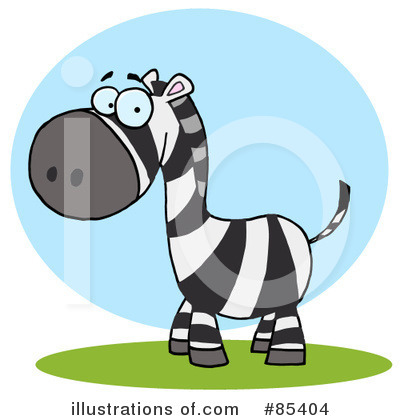 Zebra Clipart #85404 by Hit Toon