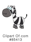 Royalty-Free (RF) zebra Clipart Illustration #85413