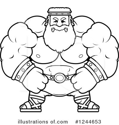 Zeus Clipart #1244653 by Cory Thoman