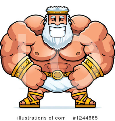 Zeus Clipart #1244665 by Cory Thoman