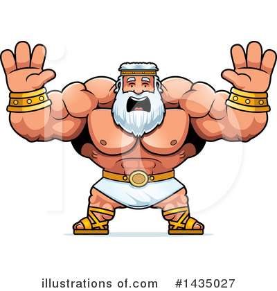 Zeus Clipart #1435027 by Cory Thoman