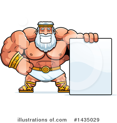 Zeus Clipart #1435029 by Cory Thoman