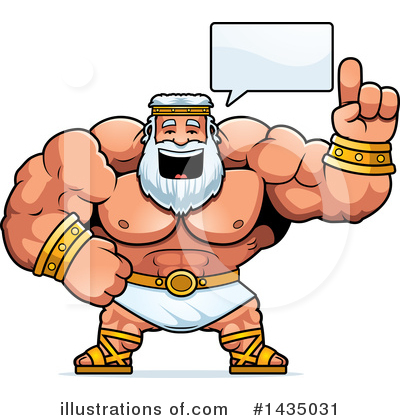 Zeus Clipart #1435031 by Cory Thoman