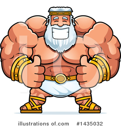 Zeus Clipart #1435032 by Cory Thoman