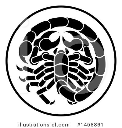 Scorpion Clipart #1458861 by AtStockIllustration