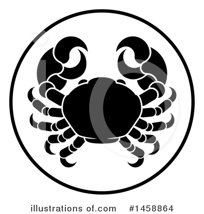 Crab Clipart #1458864 by AtStockIllustration
