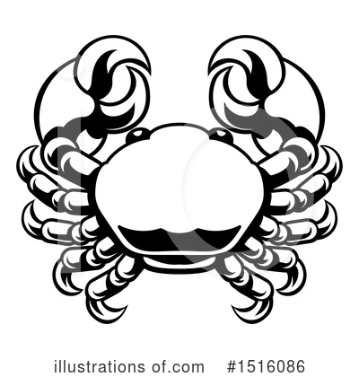 Crab Clipart #1516086 by AtStockIllustration