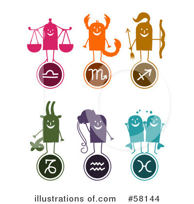 Horoscope Clipart #58144 by NL shop