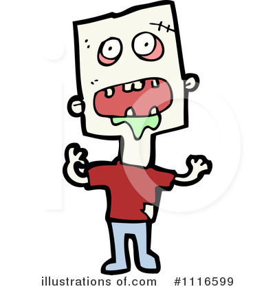 Zombie Clipart #1116599 by lineartestpilot