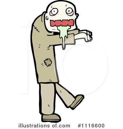 Zombie Clipart #1116600 by lineartestpilot