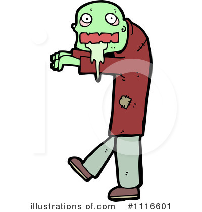 Zombie Clipart #1116601 by lineartestpilot