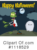 Royalty-Free (RF) zombie Clipart Illustration #1118529