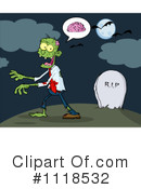 Royalty-Free (RF) zombie Clipart Illustration #1118532