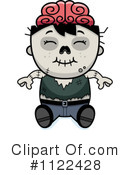 Royalty-Free (RF) zombie Clipart Illustration #1122428