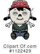 Royalty-Free (RF) zombie Clipart Illustration #1122429