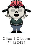 Royalty-Free (RF) zombie Clipart Illustration #1122431