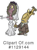 Royalty-Free (RF) Zombie Clipart Illustration #1129144