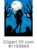 Royalty-Free (RF) zombie Clipart Illustration #1150869