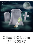 Royalty-Free (RF) zombie Clipart Illustration #1160577