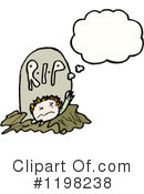 Royalty-Free (RF) Zombie Clipart Illustration #1198238