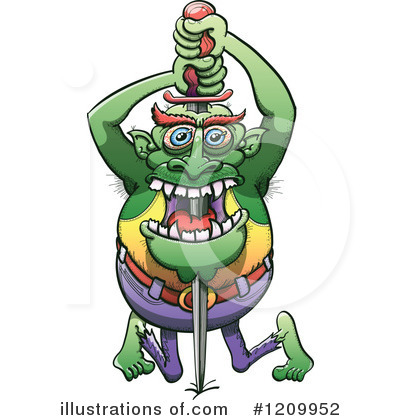 Monster Clipart #1209952 by Zooco