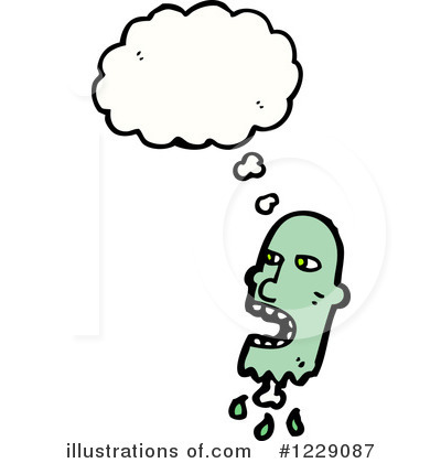 Zombie Clipart #1229087 by lineartestpilot
