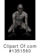 Zombie Clipart #1351560 by KJ Pargeter