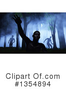 Zombie Clipart #1354894 by KJ Pargeter