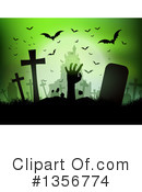 Zombie Clipart #1356774 by KJ Pargeter