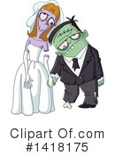 Royalty-Free (RF) Zombie Clipart Illustration #1418175