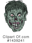 Royalty-Free (RF) Zombie Clipart Illustration #1439241