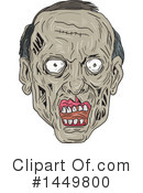 Royalty-Free (RF) Zombie Clipart Illustration #1449800